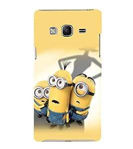 printtech Minions Back Case Cover for Samsung Z3 :: :Samsung Z300H/DD