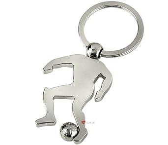 Soccer Man Keyring