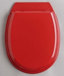 Allibert - m168619x - Abattant wc rouge cardinal ATLAS