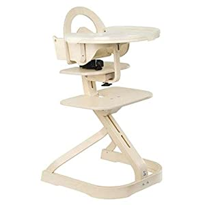 High Chair - Award Winning Svan Signet Complete High Chair with Removable Tray (White)