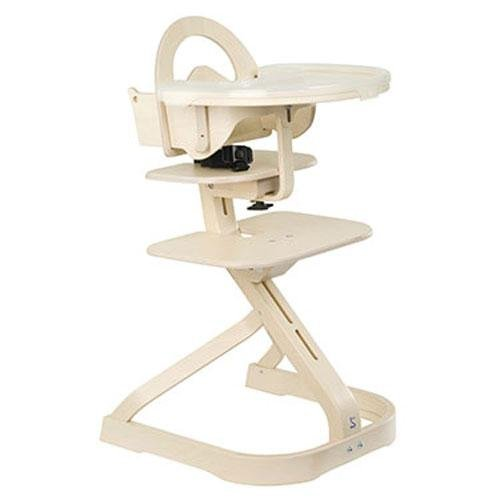 Svan Signet Complete High Chair - Whitewash Finish (for 6 months to adult)