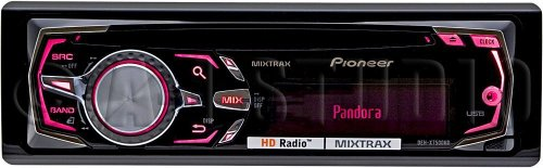 Pioneer Deh-X7500Hd Single Din In-Dash Cd/Mp3/Usb/Aux Receiver With Hd Radio, Mixtrax And Pandora