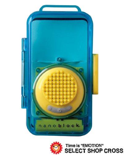 [ナノブロック]nanoblock デコレーション防沫スピーカー おまけフィギア付 イエロー NBA-0881YE