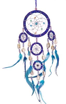 1 X DreamCatcher~ DreamCatcher Feathers~ Approx 3.5
