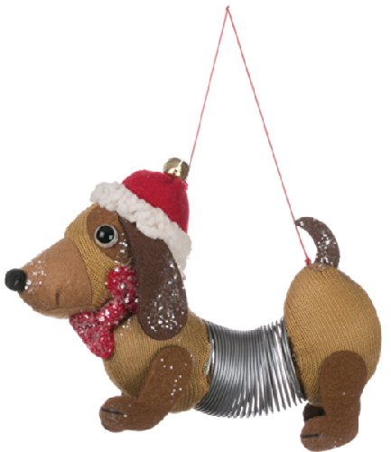 Animal Christmas Ornament - Slinky Dog Christmas Ornament