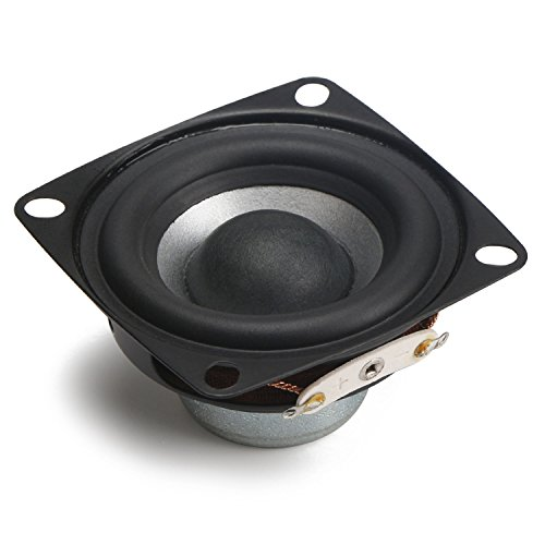 DROK 2 Inch Tweeter Audio Speaker 10W 4 Ohm Full-range Computer Stereo Speaker HiFi Loudspeaker Square Shape for DIY Home Car Audio Stereo Speakers (Square Shape) (Infinity Subwoofer Package compare prices)