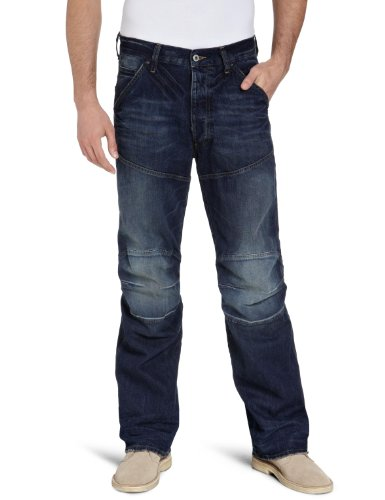 G-Star Men's 5620 3D Loose - 5620 Loose-Fit Jeans Blue (Medium Aged 71) 32/36