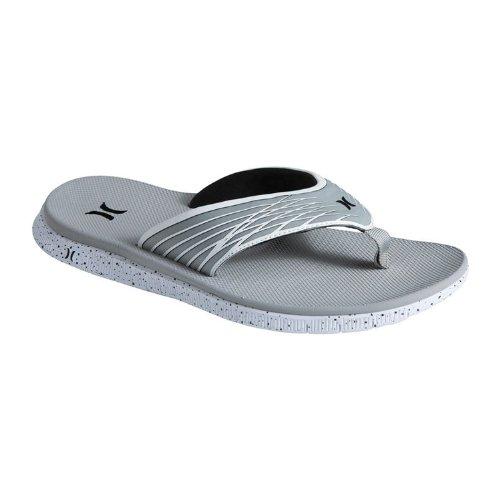 Hurley Msa0000010 Mens Phantom Sandal,Cool Grey,12 front-976570