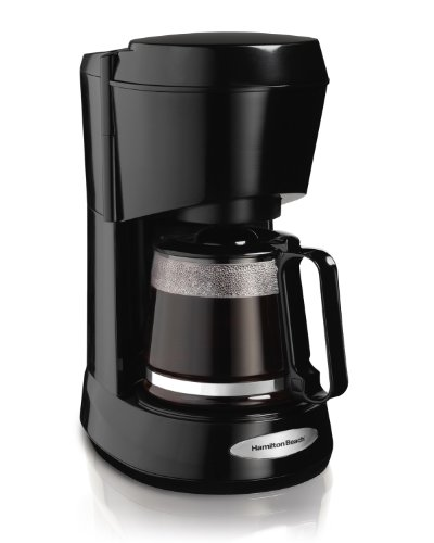 Hamilton Beach 5-Cup Coffeemaker, Black