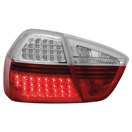 RB27DLRC LED Rückleuchten BMW E90 3er Lim. 05 red clear