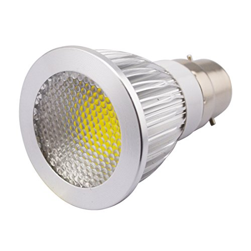 Grexistar 5W B22 Ac 85V~265V / 50 / 60Hz Cob Led Spot Light Bead Surface Lens Cool White