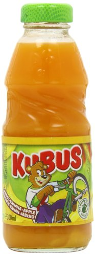 Kubus Banana, Carrot and Apple Juice 300 ml (Pack of 20)