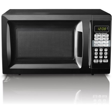 Hamilton Beach 0.7 cu ft Microwave Oven , features Child-safe lockout, 10 power levels (Black) (Industrial Microwave Stand compare prices)