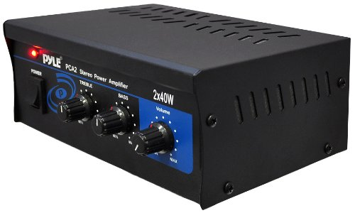 Learn More About Pyle Home PCA2 2X40-Watt Stereo Mini Power Amplifier