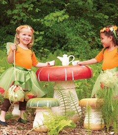 Toadstool Table U0026 Stools   Garden/children Room Furniture Amazon Price: Buy  Now (price As Of Oct 11, 2013)