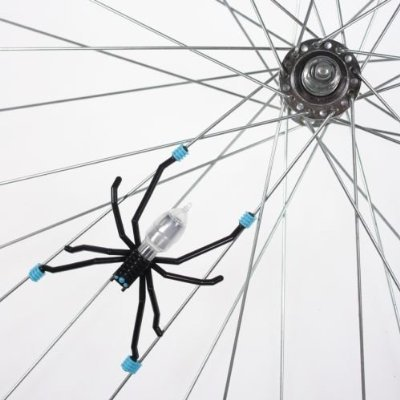 Tireflys Spoke Spider Motion Activated Light - Blue