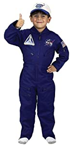 Flight Suit W Cap Size 8-10 Costume