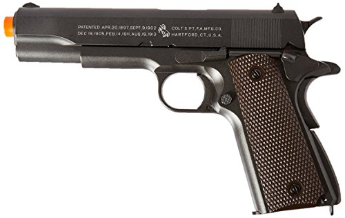 Colt 100Th Anniversary 1911 Co2 Full Metal Airsoft Pistol, 6mm (Full Metal Gun compare prices)