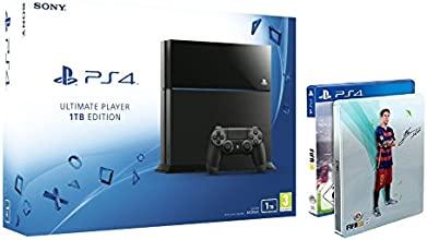 Sony PlayStation 4 1TB with FIFA 16  Steelbook Edition
