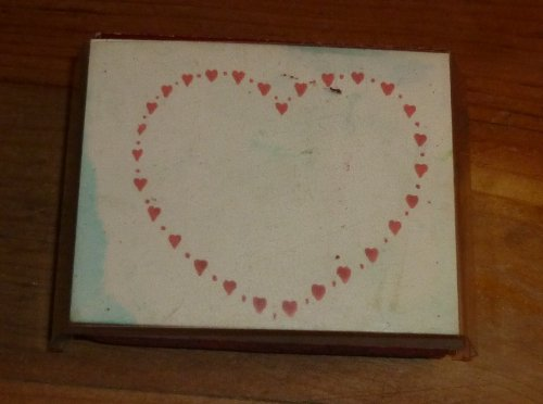 Heart Of Hearts Rubber Stamp - 1
