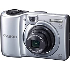 Canon Powershot A1300 Digital Camera (Silver)