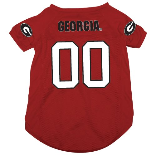 NCAA Georgia Bulldogs Pet Jersey,  X-Large (Bulldog Pet Clothing compare prices)