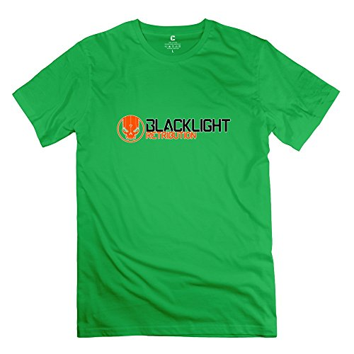 blacklight-tango-down-cool-short-sleeve-forestgreen-tshirts-for-adult-size-l