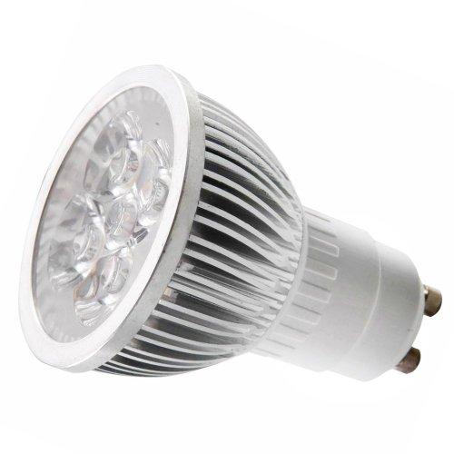 Gu10 4*1W Led Spot-Light/Cup Bulb Ac100-230V 4W Warm White 2700-3300K 50W Equivalent