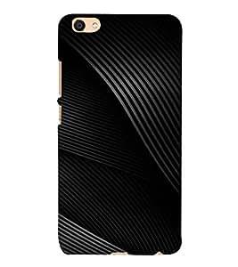 PrintVisa Green Pattern 3D Hard Polycarbonate Designer Back Case Cover for VIVO X7L