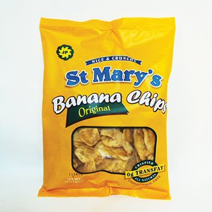 St Mary's Banana Chips 5 OZ