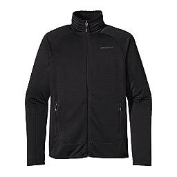Patagonia R1 Fleece Jacket - Men\'s Black, M