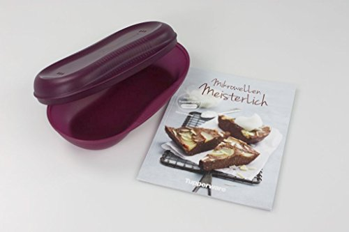 Tupperware micro-ondes omlett-Meister Violet + manche de cuisson micro-ondes meisterlich