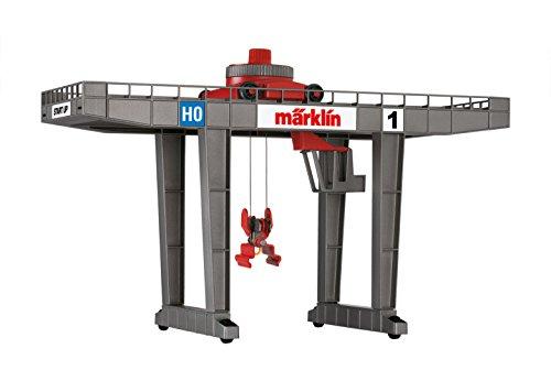 Mrklin-72452-Containerterminal-Moderner-Brckenkran-zur-Verladung-von-Containern-Fahrzeuge