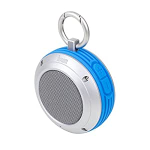 Satechi® Voombox Travel Portable Bluetooth 4.0 Speaker with 4W Driver & up to 6 Hours of Playtime Splash Resistant (Blue)