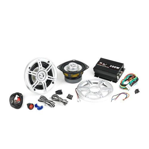 Sound-Set für Roller Helmfach, Helmfachanlage