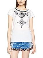 H.H.G. Camiseta Manga Corta Soir (Blanco)