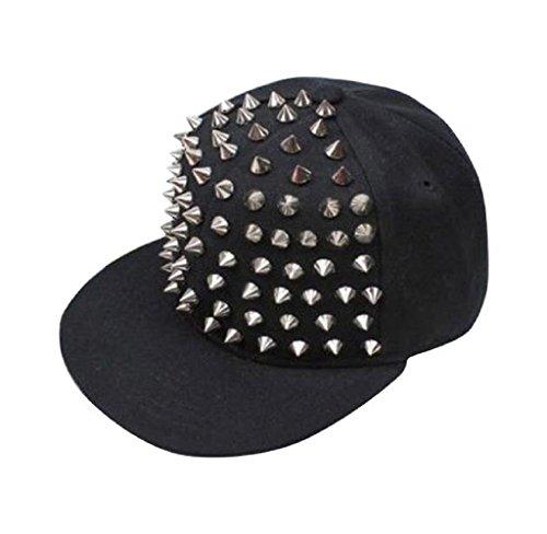 covermason-neue-art-und-weise-flachen-rand-der-hip-hop-semi-nieten-baseballmutze-schwarz