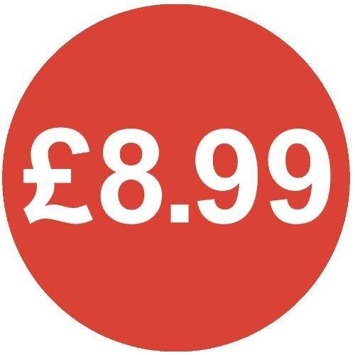 Audioprint Lot Petit 13mm £ (Prix-5000Autocollants