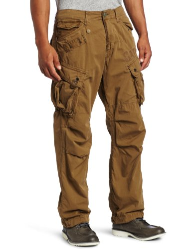 G Star Co Rovic Loose Men's Cargo Trousers Fox W38INxL32IN