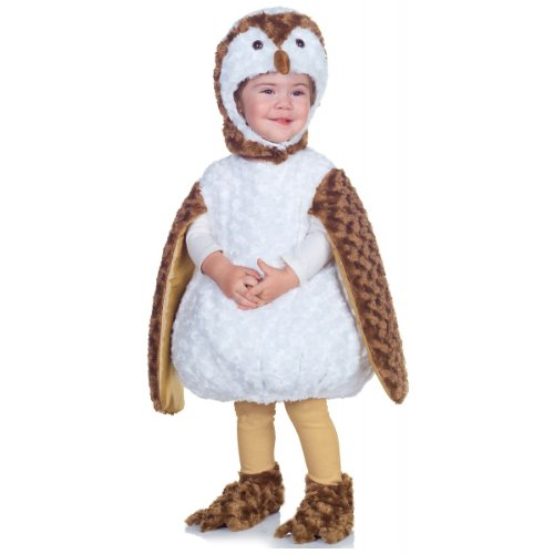 White Barn Owl Costume Toddler 18-24 Months