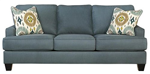 Brileigh Sofa with Set-Back in Teal by Ashley
