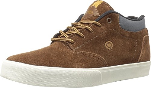 C1RCA Men's Lakota SE Skateboarding Shoe, Brown/Charcoal, 8.5 M US