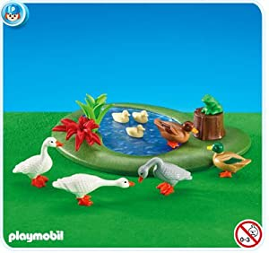 Amazon.com: Duck Pond with Geese: Toys & Games