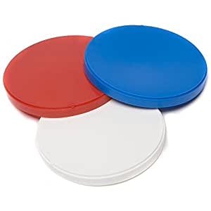 Caraselle 9 x Plastic Can Lids
