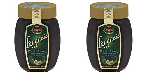 Forest Honey Langenese, 13.2 oz (Pack of 2)