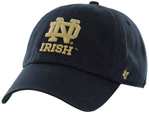 Ncaa Notre Dame Fighting Irish '47 Brand New Franchise Fitted Hat, Navy, Large front-219224
