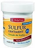 De La Cruz Pomada De Azufre Sulfur Ointment, 2.6 Ounce Jar (Pack Of 6)