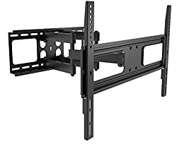 Full-Motion Wall Mount Bracket for 32-70 inch TVs, Max 175 lbs.