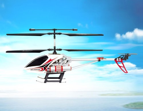 SongYang TOYS 8088-515-Channel RC Helicopter with Gyroscope Spontaneous Missile (Red)