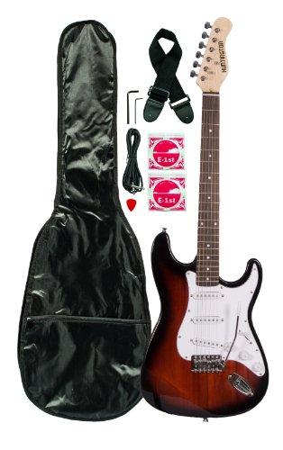 Huntington Ge139-Rds Electric Guitar Pack, Redburst